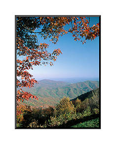 Art.com Green Knob Overlook, Blue Ridge Parkway, NC by Jim Schwabel, Mounted Photo Wood