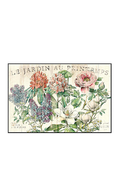 Art.com Le Jardin Printemps by Sue Schlabach, Mounted Print