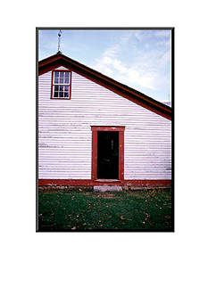 Art.com Old farmhouse in rural Indiana, Mounted Photo USA by Anna Miller