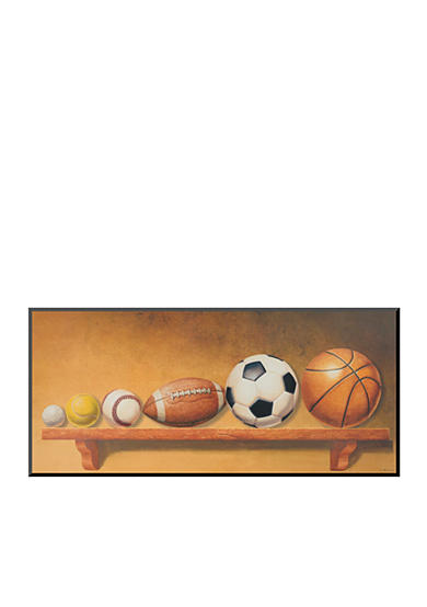 Art.com Keep Your Eye on the Ball by Lisa Danielle Mounted Print