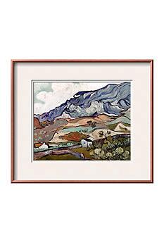 Art.com Van Gogh: Landscape, 1890 by Vincent van Gogh, Framed Art Print