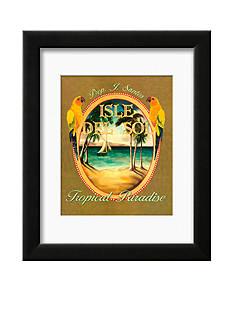 Art.com Isle del Sol, Framed Art Print