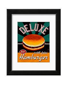 Art.com Deluxe Hamburger, Framed Art Print