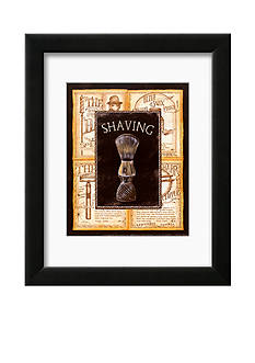 Art.com Grooming Shaving, Framed Art Print