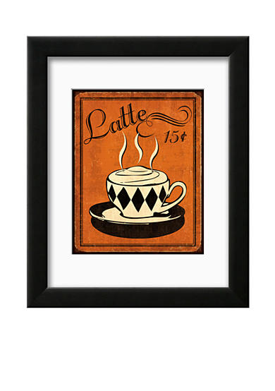 Art.com Retro Coffee IV, Framed Art Print