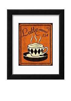 Art.com Retro Coffee IV, Framed Art Print