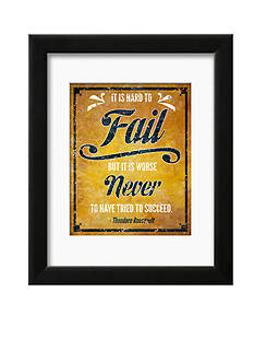 Art.com Hard to Fail, Framed Art Print