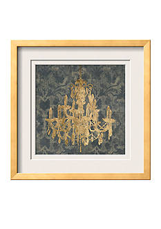 Art.com Gilt Chandelier III by Jennifer Goldberger, Framed Art Print