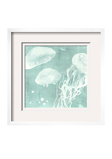 Art.com Spa Jellyfish VIII by Grace Popp, Framed Giclee Print