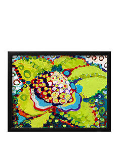 Art.com Blooming Cactus Framed Giclee Print