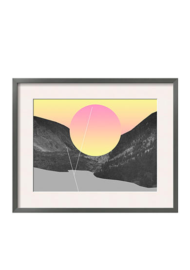 Art.com ZT-6653577 by Mario Wagner, Framed Giclee Print