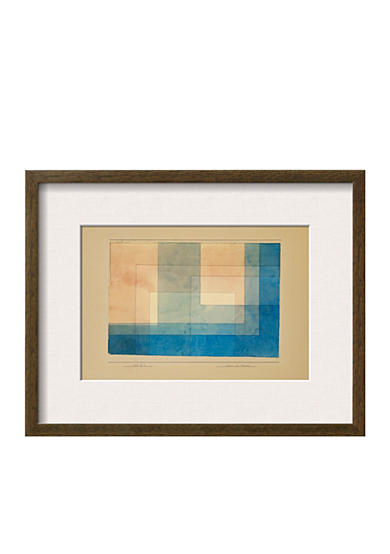 Art.com House by the Water by Paul Klee, Framed Giclee Print