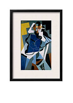 Art.com Figure of a Woman, 1917 by Juan Gris, Framed Giclee Print