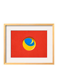 Art.com Red Yellow Blue by John Gusky, Framed Photographic Print