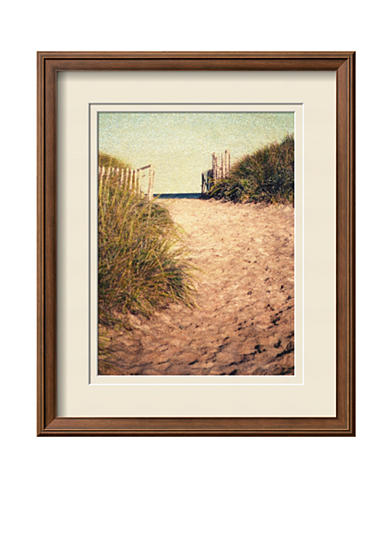 Art.com First Encounter Beach by Jennifer Kennard, Framed Photographic Print