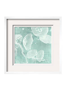 Art.com Spa Jellyfish IV by Grace Popp, Framed Giclee Print