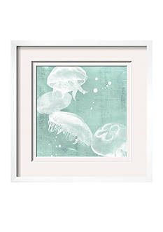 Art.com Spa Jellyfish III by Grace Popp, Framed Giclee Print