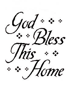 Art.com God Bless this Home Wall Decal  Online Only