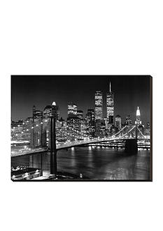 Art.com New York, New York Brooklyn Bridge Street Online Only