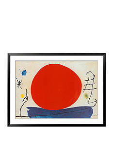 Art.com The Red Sun Framed Art Print Online Only