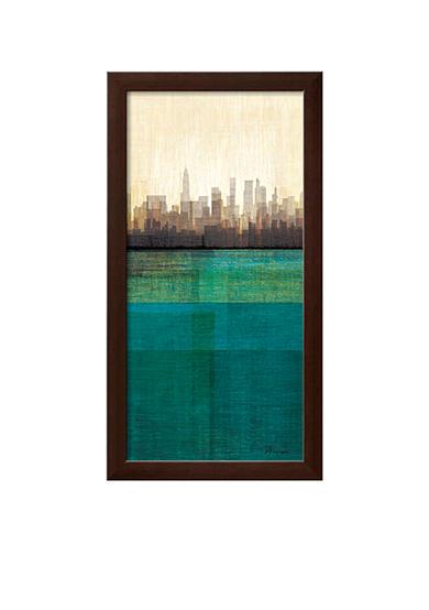 Artcom Metropolitan Jewel Box Emerald Framed Art Print