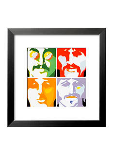 Art.com The Beatles- Sea of Science Framed Art