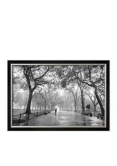 Art.com Poet's Walk, Central Park, New York City, Framed Art Print, - Online Only