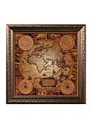 Art.com Antique Map, Cartographica I, Framed Art