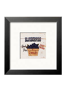 Art.com Blueberries Just Picked Framed Art Print - Online Only