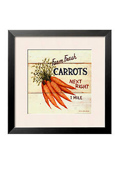 Art.com Farm Fresh Carrots Framed Art Print - Online Only