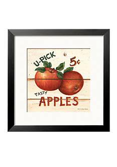 Art.com U-Picked Apples, Five Cents Framed Art Print - Online Only