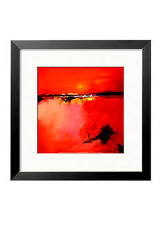 Art.com Orange Horizon Framed Art Print Online Only