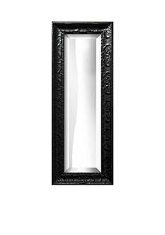 Art.com 13-in. W x 35-in. H Michelangelo Black Wood Framed Mirror - Online Only
