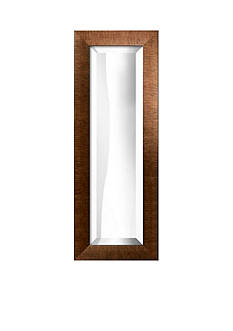Art.com 13-in. W x 35-in. H Brushed Bronze Wood Framed Mirror - Online Only