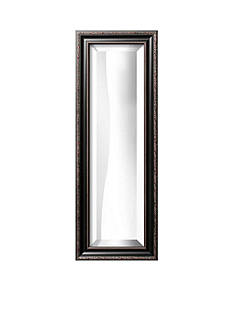 Art.com 12-in. W x 34-in. H Parma Black Wood Framed Mirror - Online Only