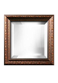 Art.com 16-in. W x 16-in. H Prague Bronze Wood Framed Mirror - Online Only