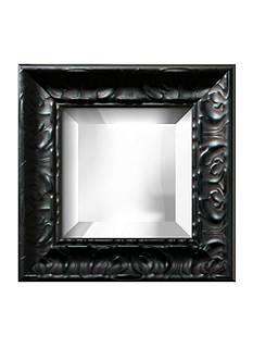 Art.com 13-in. W x 13-in. H Michelangelo Black Wood Framed Mirror - Online Only