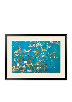 Art.com Almond Branches in Bloom, San Remy, c.1890, Framed Art Print, - Online Only
