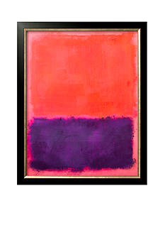 Art.com Untitled, c.1961 by Mark Rothko, Framed Art Print