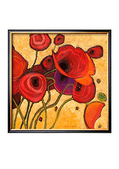 Art.com Poppies Wildly II Framed Art Print