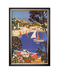 Art.com Cote d'Azur, Framed Art Print, - Online Only