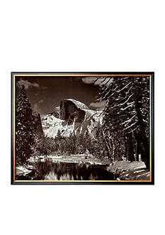 Art.com Half Dome, Merced River, Winter Framed - Online Only