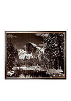 Art.com Half Dome, Merced River, Winter Framed - Online Only