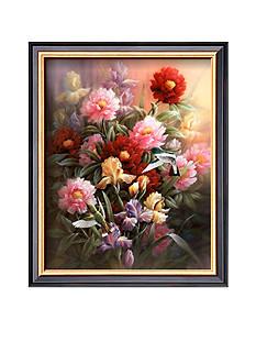 Art.com Hummingbirds With Iris Framed Art Print - Online Only