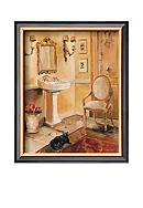 Art.com French Bath II, Framed Art Print - Online