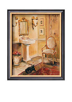 Art.com French Bath II, Framed Art Print - Online Only