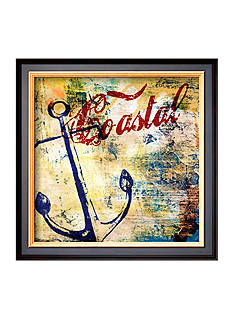 Art.com Nautical Motif I Framed Art Print  Online Only