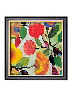 Art.com Floral Tile III, Framed Art Print, - Online Only