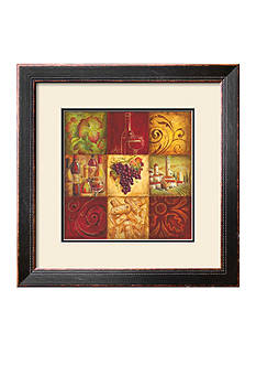 Art.com Tuscan Wine II, Framed Art Print, - Online Only