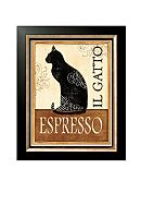 Art.com Il Gatto, Framed Art Print, - Online Only